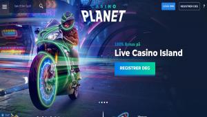 Casino Planet live casino omtale erfaringer vurdering