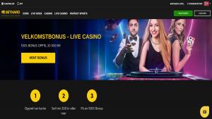 Bethard live casino omtale bonus live dealer ekte