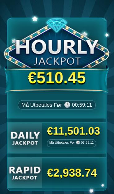 daglig jackpot hourly jackpot